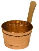 Bucket, 4L Copper